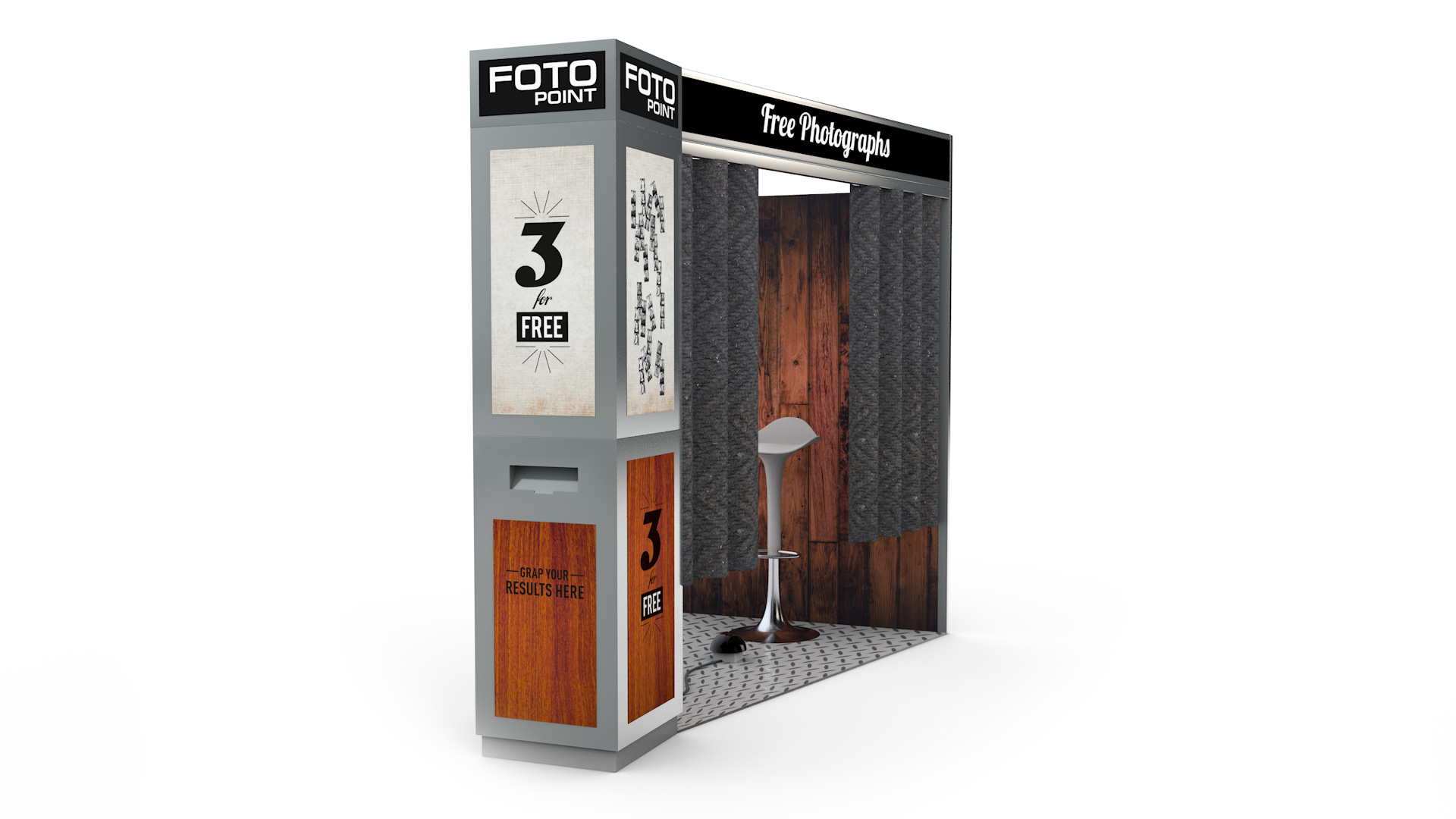 Fotobox Retro-Edition